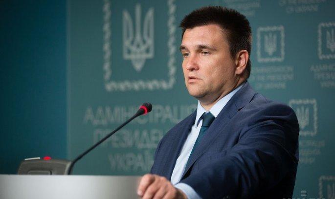Клімкін: Україна вирішила не вводити візовий режим з РФ