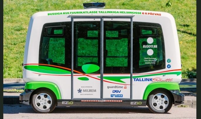 По естонському Таллінну будуть іздити автобуси-безпілотники