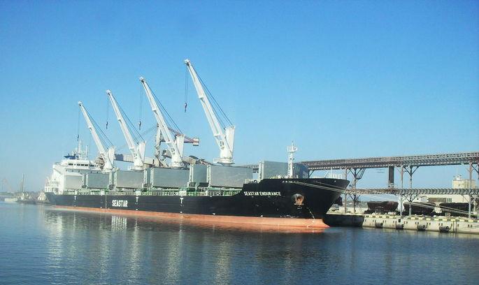 З початку року порт «Ніка-Тера» збільшив вантажообіг на 53%