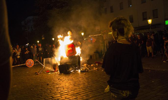 Загальні збитки від протестів у Гамбурзі під час G20 складають 12 млн євро