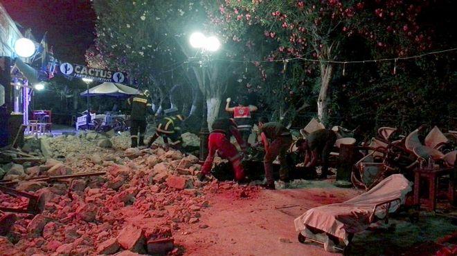 Туреччиною та Грецією прокотився потужний землетрус: двоє загиблих, 375 поранено (ОНОВЛЮЄТЬСЯ)