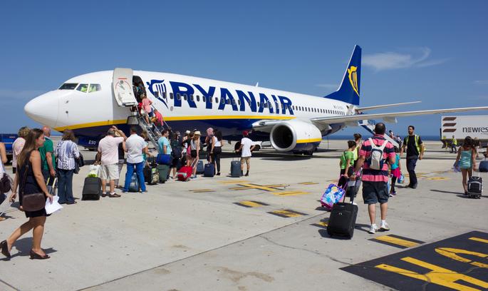 Ryanair зібрався купити італійську авіакомпанію Alitalia