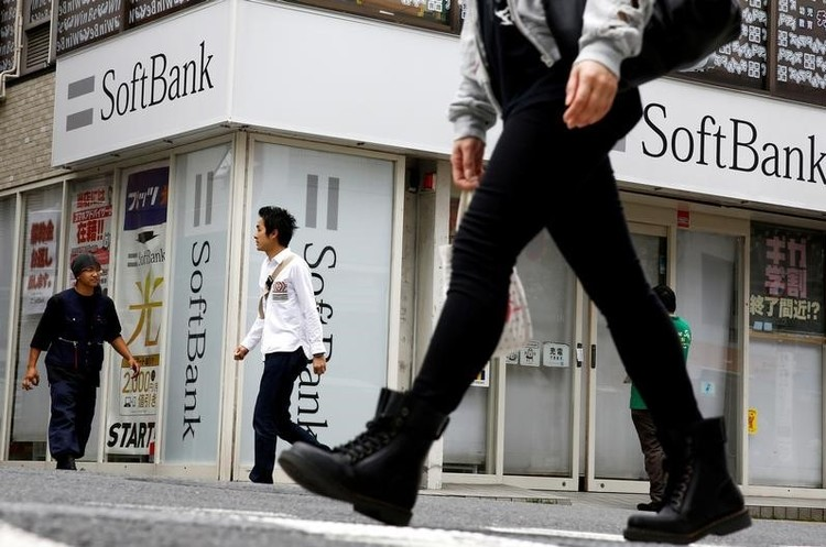 Японський SoftBank зібрався купити частку в Uber