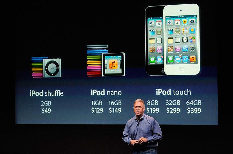 Apple більше не випускатиме програвачі iPod nano та iPod shuffle