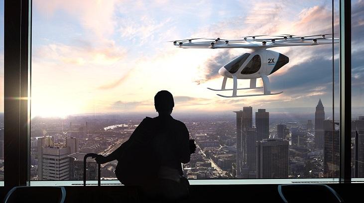 Volocopter отримала $30 млн інвестицій на розробку літаючих таксі