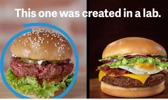 Білл Гейтс та інші багатії вкладають кошти в виробництво штучного м'яса