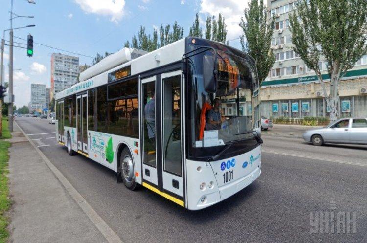 У Дніпрі курсуватимуть бездротові тролейбуси