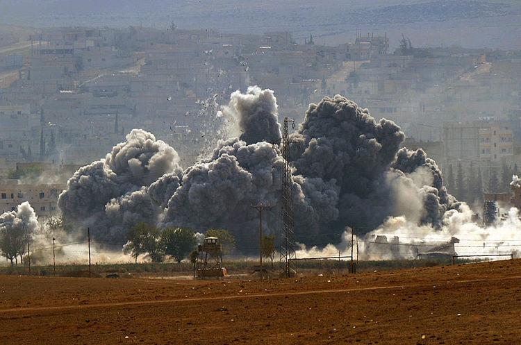 Від авіаударів коаліції у Сирії загинуло 29 мирних жителів