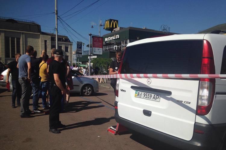 Стрілянина на центральному вокзалі у Києві. Є постраждалі. ОНОВЛЕНО