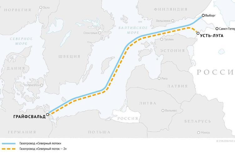 Австрійська OMV перевела 200 млн євро на будівництво «Північного потоку-2»
