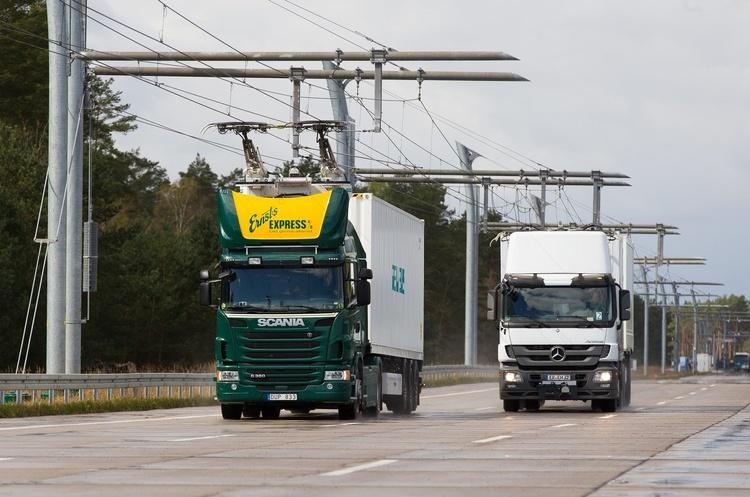 Siemens у Німеччині побудує 10-кілометрову електродорогу для вантажівок