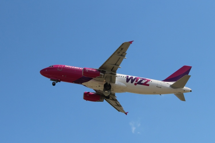 WizzAir ввів послугу бронювання тарифу на 48 годин