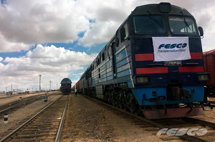 Російська FESCO запускає транзитний поїзд між Китаєм і Європою через Монголію