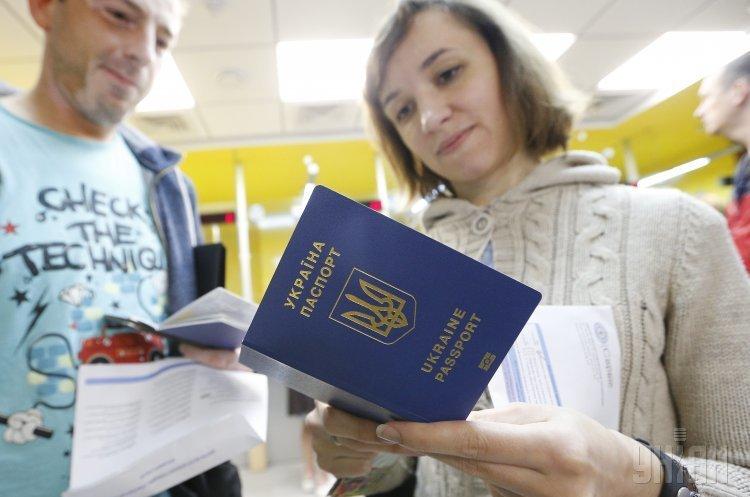 З початку року країни ЄС відвідало понад 300 000 українців