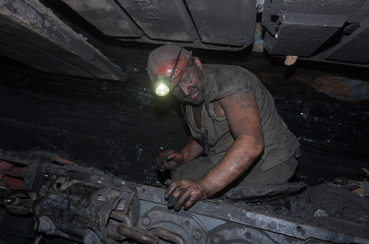 Вуглевидобуток в Україні впав на чверть