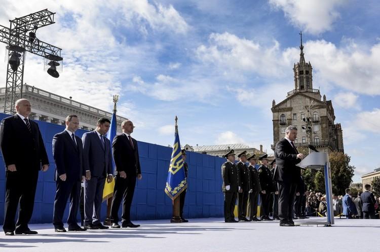 Виступ президента України до Дня Незалежності – основні тези