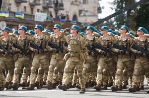 Військовий парад: як Україна святкувала 26-ту річницю незалежності
