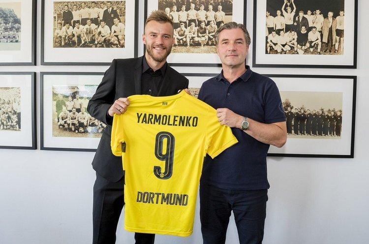 Ярмоленко підписав 4-річний контракт із дортмундською «Боруссією»