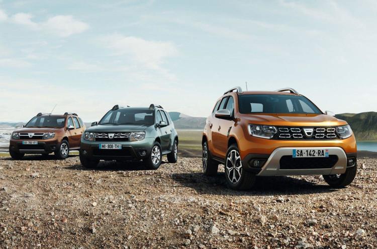 Представлені перші фото Renault Duster нового покоління