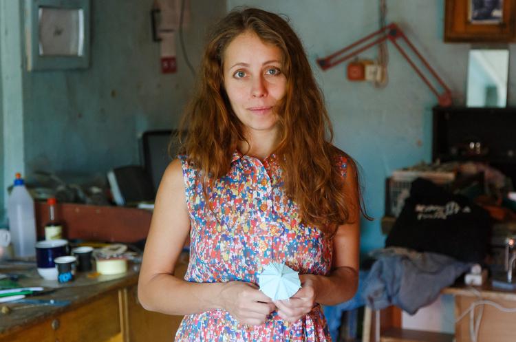 Анна Надуда: «Якщо художник здатний працювати лише за умов фінансування, то це не зовсім художник»