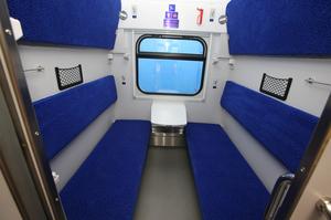 Крюківський вагонобудівний завод передав «УЗ» нові пасажирські вагони