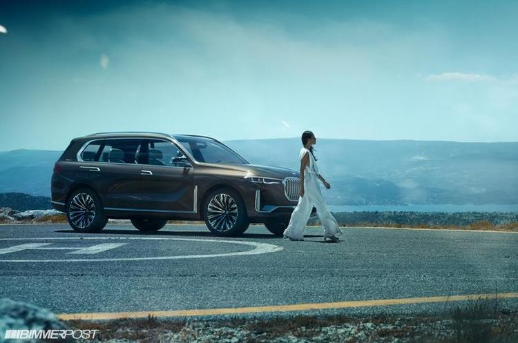 У мережу потрапили допрем'єрні фото нового позашляховика BMW X7
