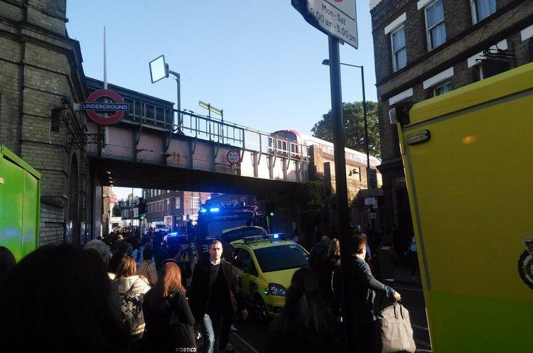 Вибух в лондонському метро: 22 людей поранено (ОНОВЛЮЄТЬСЯ)