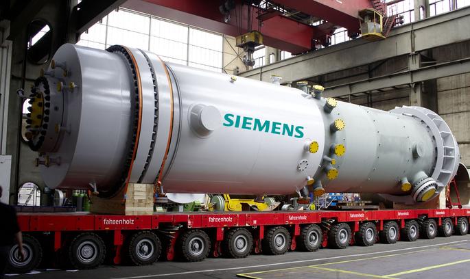 Нафтогаз: Siemens припинив поставки обладнання вУкраїну для збереження контрактів зРФ