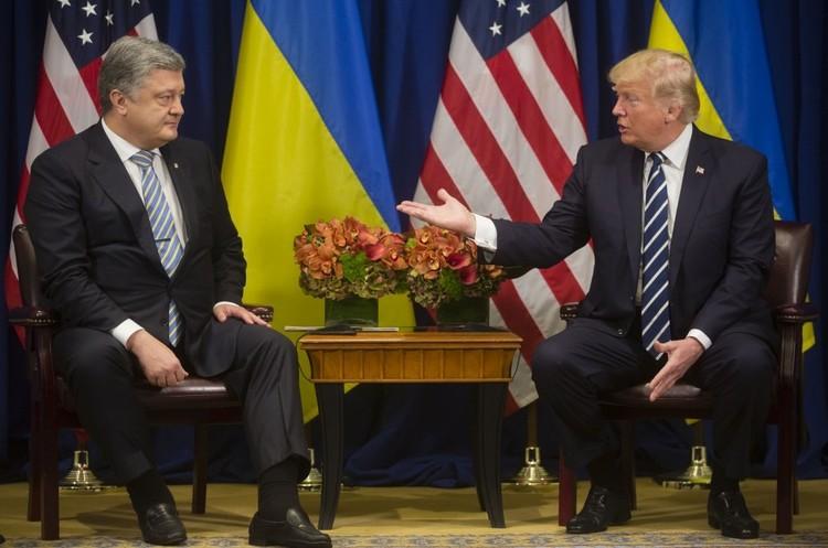 Трамп – Порошенку: «Бізнес зараз серйозно цікавиться Україною»