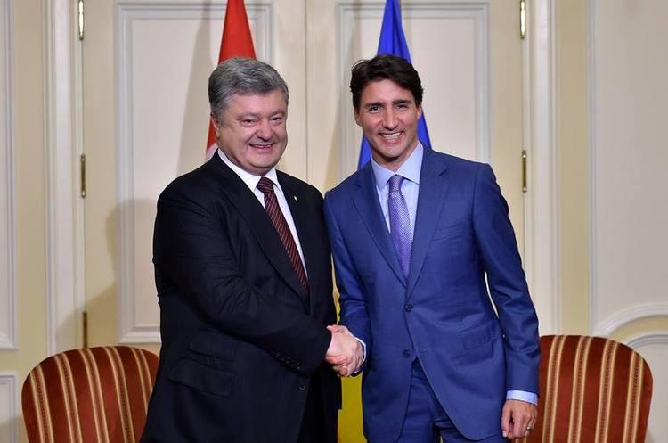 Порошенко в Канаді проводить переговори з прем'єр-міністром Трюдо (ОНОВЛЮЄТЬСЯ)