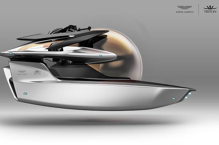 Aston Martin: від авто для Джеймса Бонда до розкішної міні-субмарини