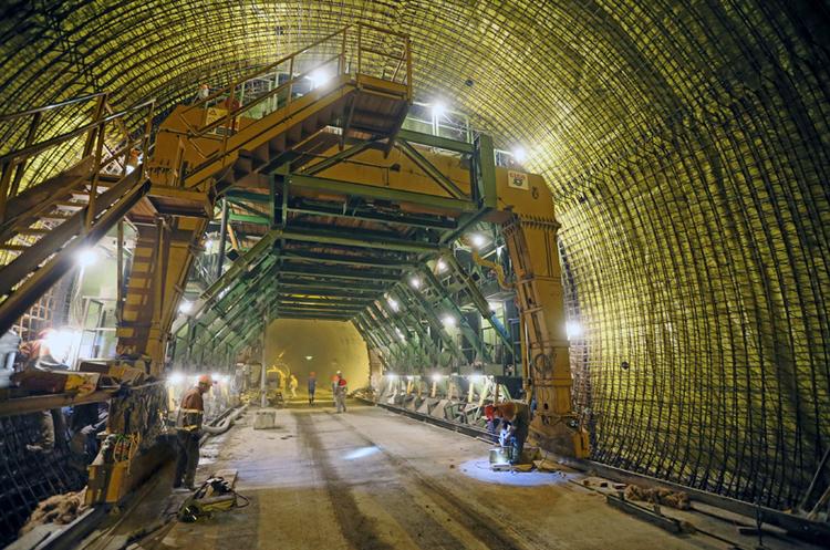 Завершено будівництво Бескидського тунелю на Закарпатті