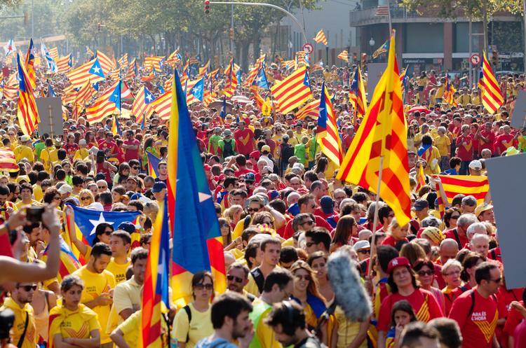 У каталонському місті Жирона іспанського короля оголосили персоною нон-грата