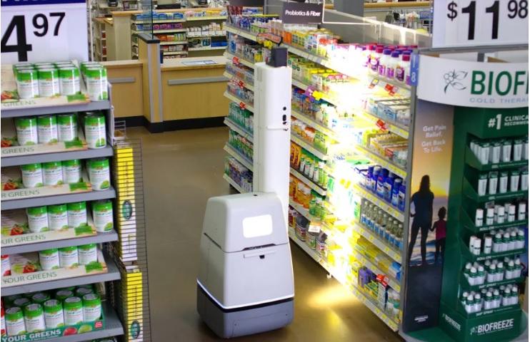 Walmart використовує роботів, щоб перевіряти термін придатності товарів