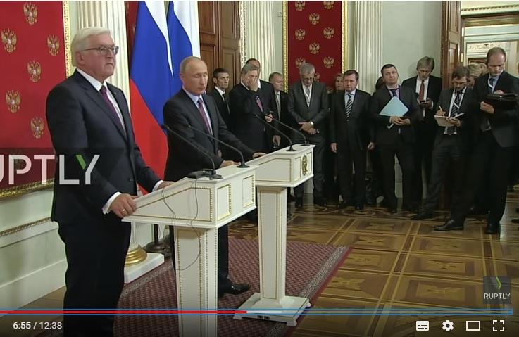 Російські ЗМІ перекрутили слова Штайнмаєра про Крим