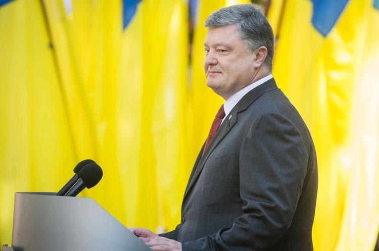 Порошенко задекларував 1 млн грн доходу від Міжнародного інвестиційного банку