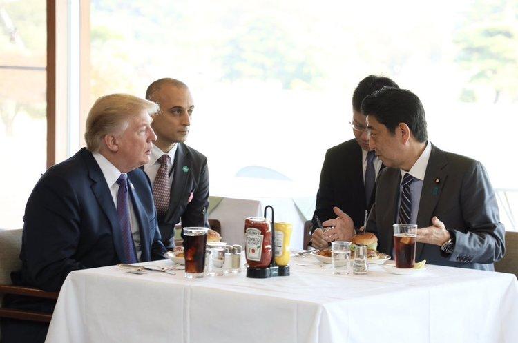 Трамп: американське озброєння дозволить Японії перехоплювати ракети КНДР