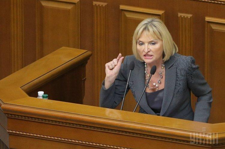 Ірина Луценко виступила на захист «сліпого трасту» Порошенка