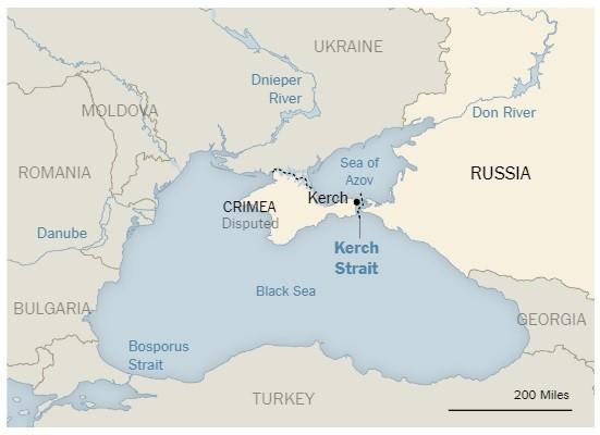МЗС звернеться до New York Times щодо зображення Криму «спірною» територією