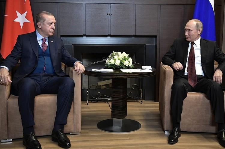 Путін зустрічається з Ердоганом: попри посмішки відчувається напруга – «Голос Америки»