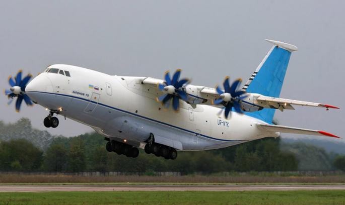 Україна готує модернізацію Ан-70