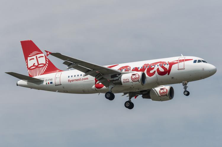 Італійський лоукостер «Ернест» запускає 4 рейси до України