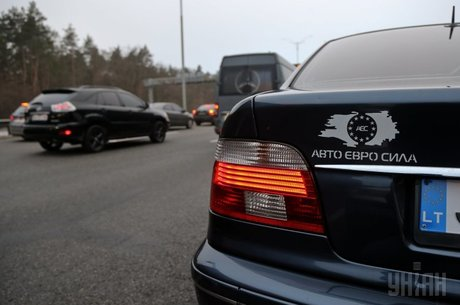 Колізія на колесах: кого покарає Литва за «єврономери» в Україні