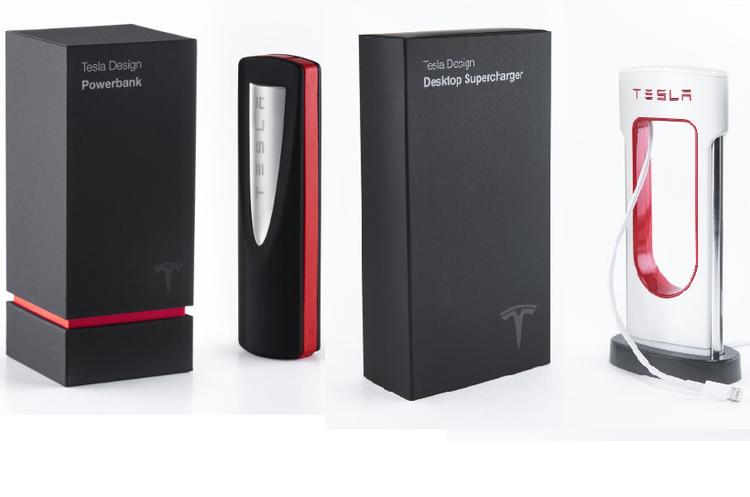 Tesla випустила зарядку для телефонів у вигляді зменшеної копії зарядної станції