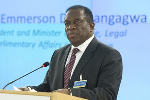 У Зімбабве новий президент: Мнангагва склав присягу