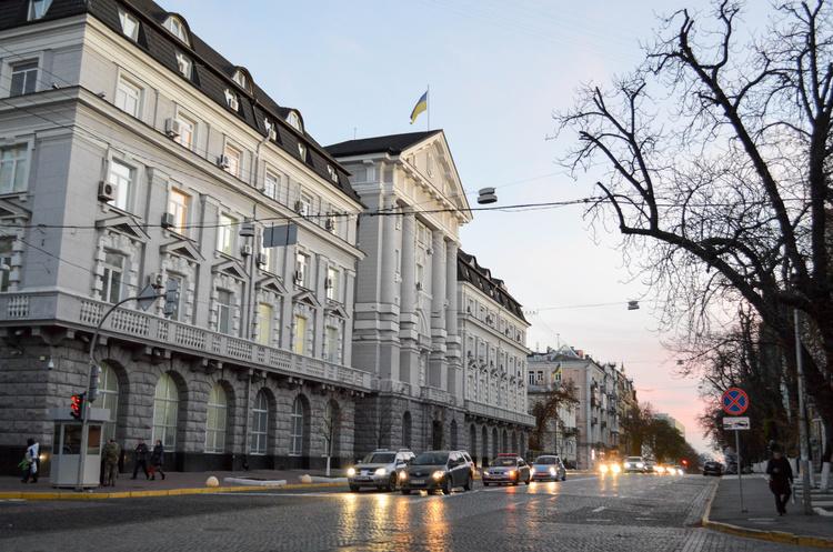 Обмежено рух транспорту в центрі Києва