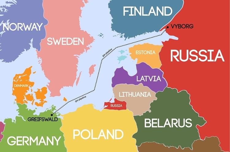 Данія заборонила Росії прокладати «Північний потік-2» через свої води