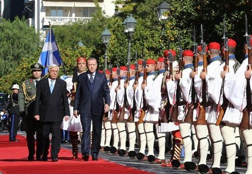 Ердоган під час візиту до Греції заявив, що хоче відібрати в неї кілька островів