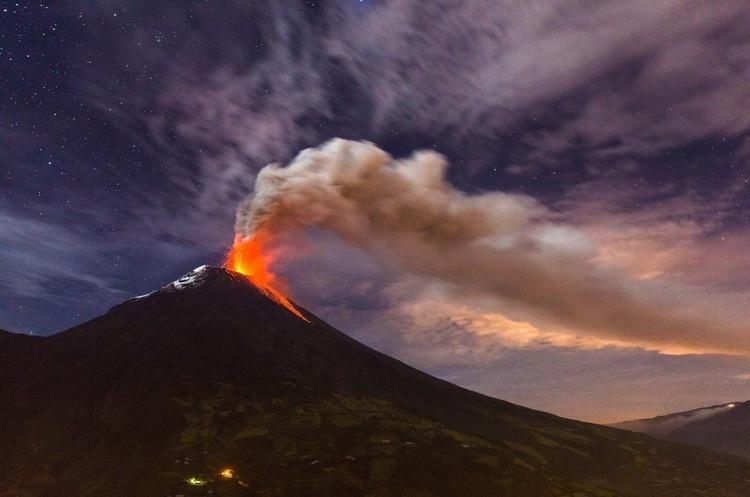 Через майже місяць після значної активності вулкана Агунг сталося ще одне виверження