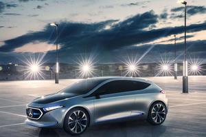 З прогресом наввипередки: Mercedes-Benz продаватиме в Україні електромобілі